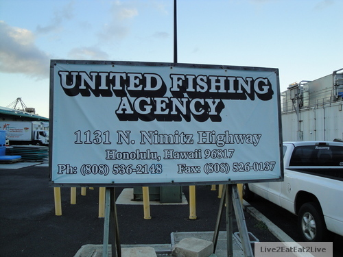 Field trip to united fishing agency live2eateat2live blog for United fishing agency