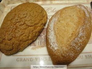 Mini Mocha and Mini Whole Wheat Bread