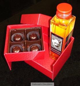 Ginkoubai Hannya Tou Sake and Chocolate
