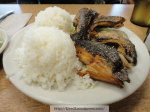 Deep-Fried Butterfish Collar and Rice