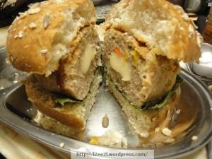 Stuffed Turkey Burger