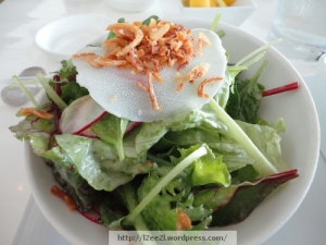 Mixed Green Salad with Kabosu Vinaigrette