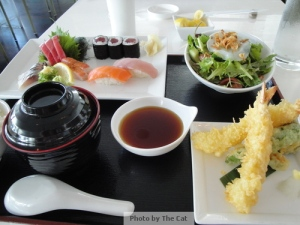 Sashim Sushi Combination Set Lunch
