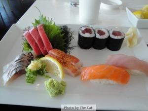Sashimi Sushi Combination