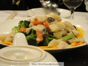 Stir-Fried Scallops with Mixed Vegetables