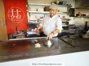 Teppan-Yaki Chef