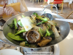 Vegetables with Glass Noodles