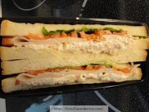 """Turkey """"Club"""" Sandwich"""