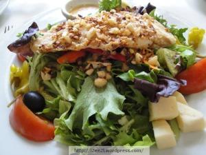 Crusted Monchong Salad