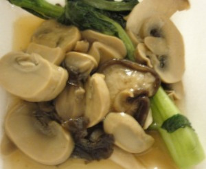 Mixed Vegetables and Mushrooms