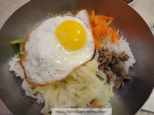 The Mouse's BiBimBap (with meat)