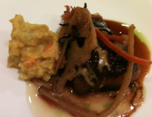Korean Style Spicy Butterfish with Curried Potato Salad