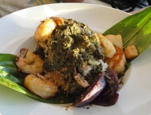 Seafood Lau Lau