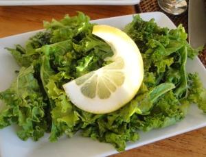 Sautéed  Curly Kale