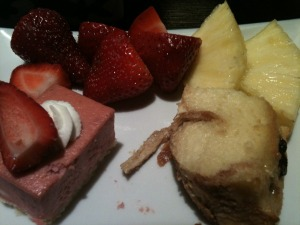 Dessert and Fruit