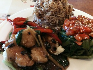 Fish in Black Bean Sauce