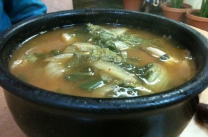 Cabbage Miso Soup