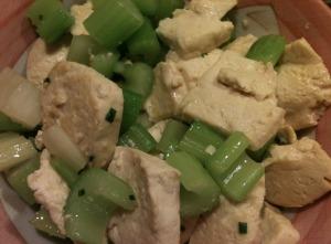 Tofu with Celery Stir-Fry