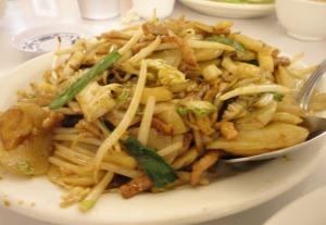 Shanghai Rice Cake Stir-Fry