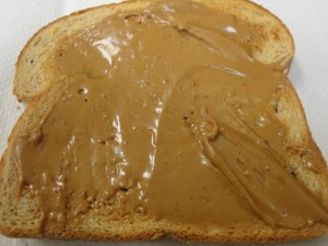 Toast with Speculoos