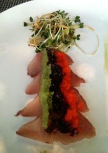 Stage Hamachi Sashimi