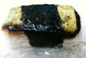 SPAM Musubi with Egg