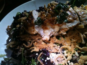 Ginger Peanut Chicken Salad