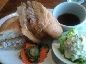 Mahi Tempura Sandwich