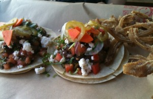 Headcheese Tacos with Fried Pig Ears