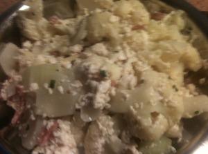 Cauliflower and Tofu Stir Fry