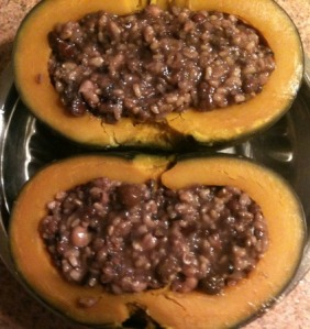 Multi-Grain Stuffed Kabocha