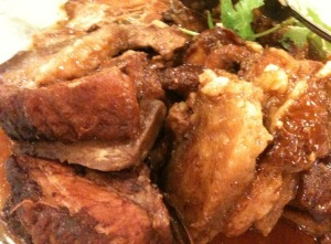 Steamed Pork with Taro