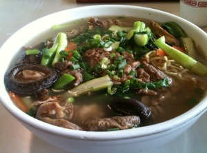 Beef Stew Soup Noodle