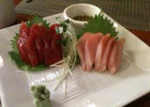 Ahi & Hamachi Sashimi
