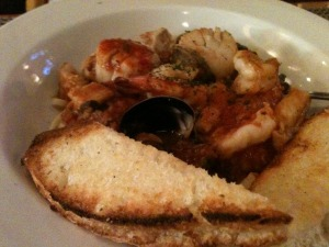 Uncle's Seafood Pasta