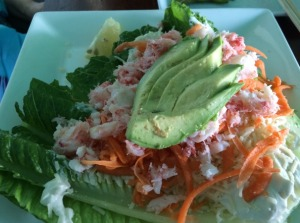 The Friend's Crabmeat and Avocado Salad