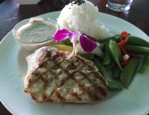 The Cat's Grilled Mahi Plate