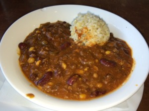 Vegetarian Chili with Brown Rice