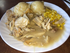 Roast Turkey Plate with Mashed Potato