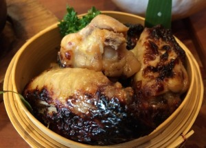 Miso Chicken Wings, Nicely Charred