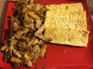 Pork and Kimchi with Tofu