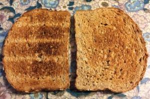 Honey Oat Bread (Toasted)