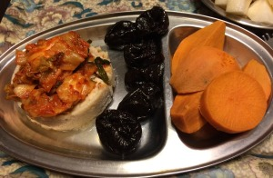 Canned Tuna (packed in water), Prunes, Sweet Potato