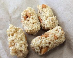 Crispy Rice and Mochi Crunch