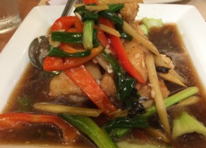 Snapper Filets with Black Bean Sauce