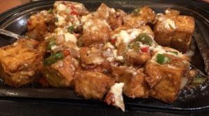 Sizzling Tofu
