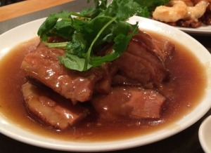 Pot Roast Pork with Taro