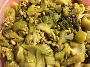 Preserved Cabbage with Ground Pork