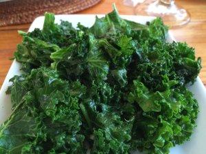 Sauteed Curly Kale