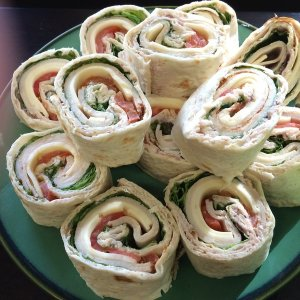 Turkey and Cheese Roll-Ups